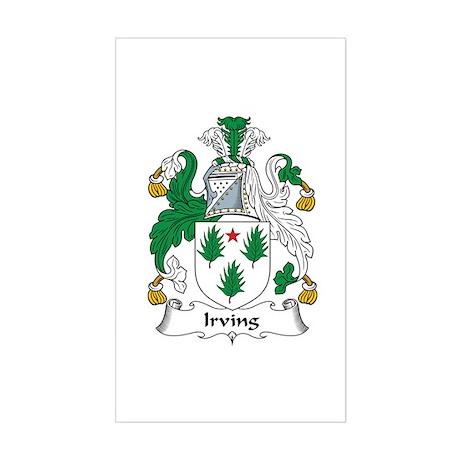Irving Rectangle Sticker