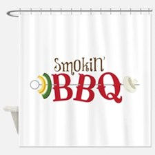 Smokin BBQ Shower Curtain