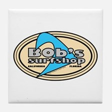 Bob's Surf Shop Tile Coaster