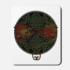 Dueling Dragons Mousepad