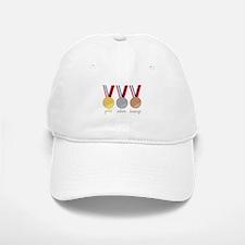 Gold Silver Bronge Baseball Baseball Baseball Cap