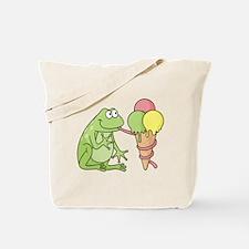 Unique Green ice Tote Bag