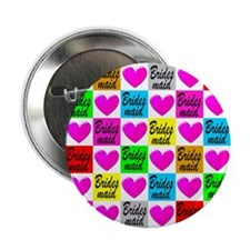 "BRIDESMAID LOVE 2.25"" Button (10 pack)"