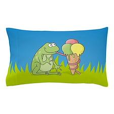 Cute Green ice Pillow Case