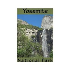 Yosemite National Park (Verti Rectangle Magnet