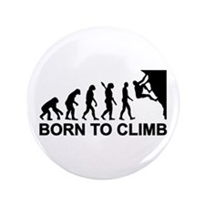 "Evolution rock climbing 3.5"" Button"