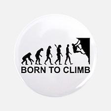 "Evolution rock climbing 3.5"" Button"