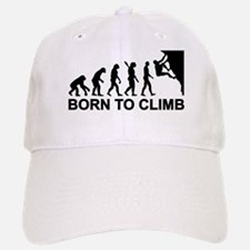 Evolution rock climbing Baseball Baseball Cap