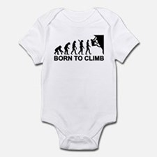 Evolution rock climbing Infant Bodysuit