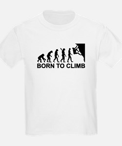 Evolution rock climbing T-Shirt