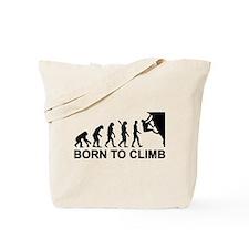 Evolution rock climbing Tote Bag