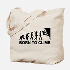 Evolution rock climbing Tote Bag
