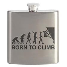 Evolution rock climbing Flask
