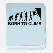 Evolution rock climbing baby blanket