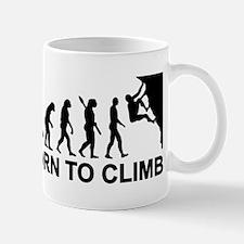 Evolution rock climbing Mug