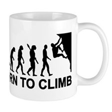 Evolution rock climbing Mug