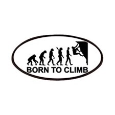 Evolution rock climbing Patches