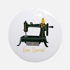 Sew Special Ornament (Round)