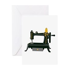 Hand Crank Sewing Greeting Cards