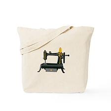 Hand Crank Sewing Tote Bag