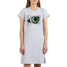 forest eye Women's Nightshirt