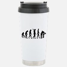 Evolution Billiards Stainless Steel Travel Mug