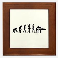 Evolution Billiards Framed Tile