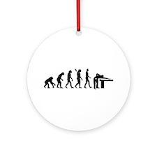 Evolution Billiards Ornament (Round)