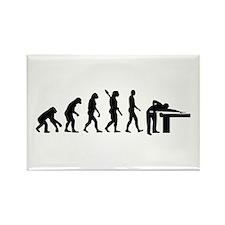 Evolution Billiards Rectangle Magnet