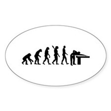 Evolution Billiards Decal