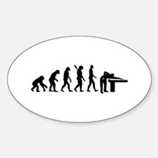 Evolution Billiards Decal