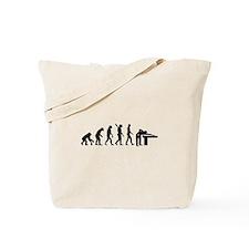 Evolution Billiards Tote Bag