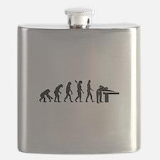 Evolution Billiards Flask