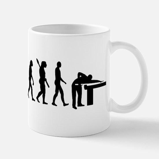 Evolution Billiards Mug