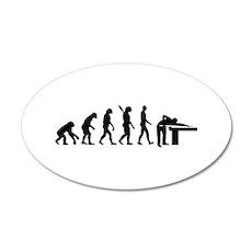 Evolution Billiards Wall Decal