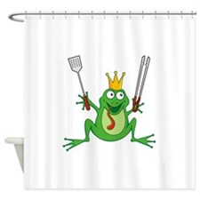 Cute Barbeque Shower Curtain