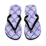 Damask Lavender Flip Flops
