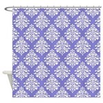 Damask Lavender Shower Curtain