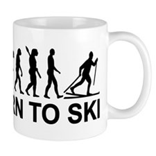 Evolution Cross-country skiing Mug