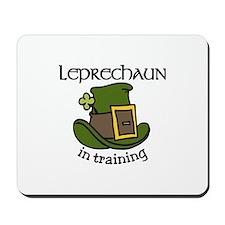 Leprechaun Training Mousepad