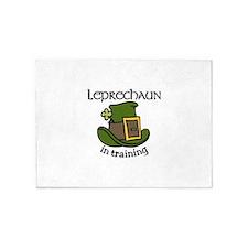 Leprechaun Training 5'x7'Area Rug