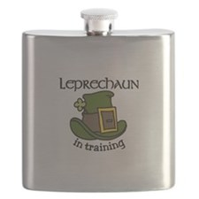 Leprechaun Training Flask