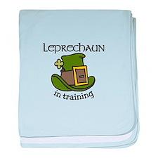 Leprechaun Training baby blanket