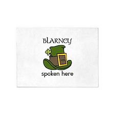 Blarney Spoken 5'x7'Area Rug