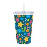 Sea Creatures Ocean Acrylic Double-wall Tumbler