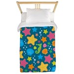 Sea Creatures Ocean Twin Duvet