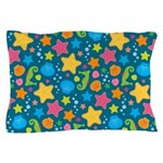 Sea Creatures Ocean Pillow Case