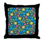 Sea Creatures Ocean Throw Pillow