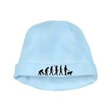 Evolution Walk the dog baby hat