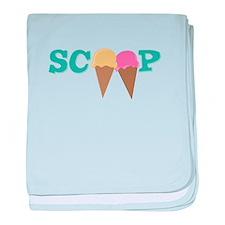 Scoop baby blanket